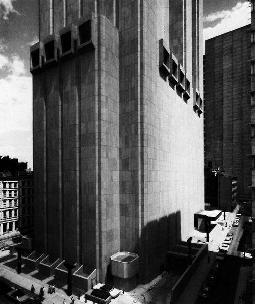John Carl Warnecke & Associates, New York Telephone Company...