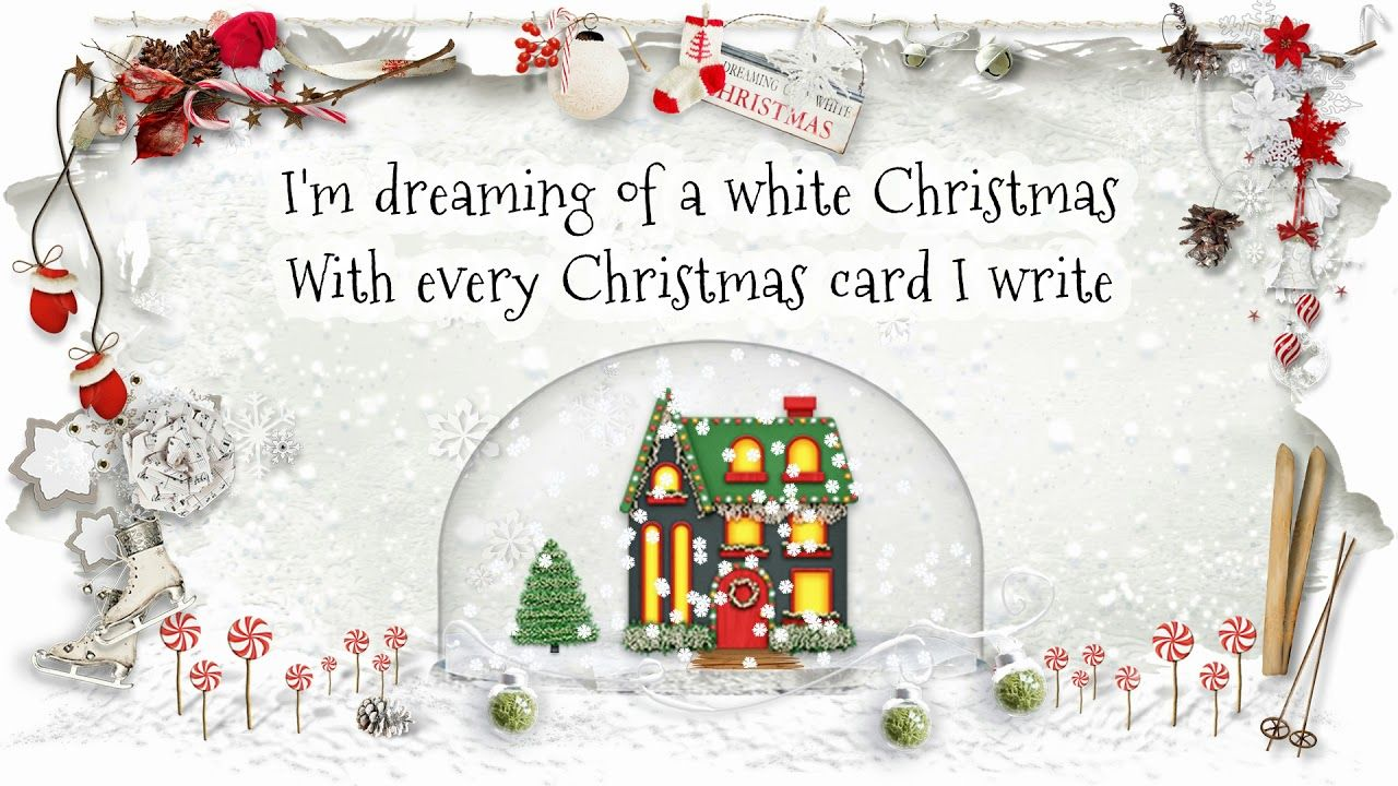 George Strait - White Christmas (Lyric Video) | George Strait ...