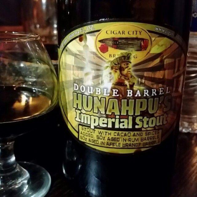 Double Barrel Hunahpu S City Brew Double Barrel Apple Brandy