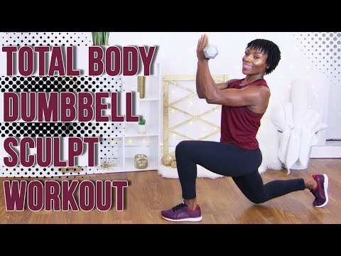 9 25 minute strength training workout with dumbbells