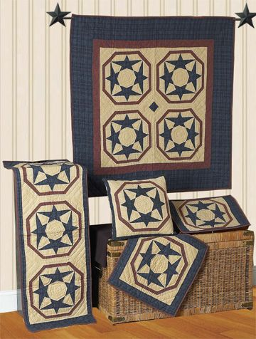 Dancing Star Quilts | Choices Quilts offers Dancing Star Quilts handmade for you! You can shop online or call us toll-free @ 1-800-572-2070 or 770-641-9700.