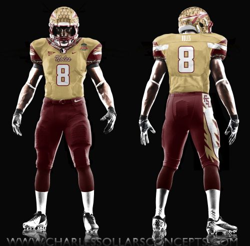 Florida State Seminoles Full Uniform Concepts Jacksonville Jaguars Football Uniforms Jaguars Helmet