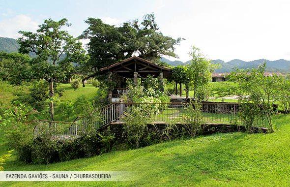 Fazenda Gaviões - Sauna / Churrasqueira