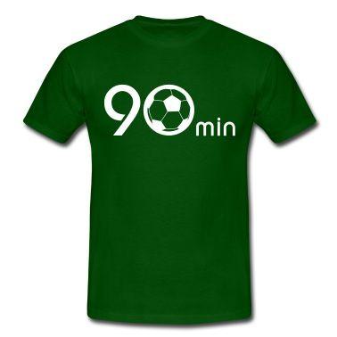 Ein Fußballspiel dauer 90 minuten.