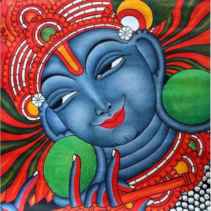 Lotus paintings krishna google search art pinterest for Easy mural painting