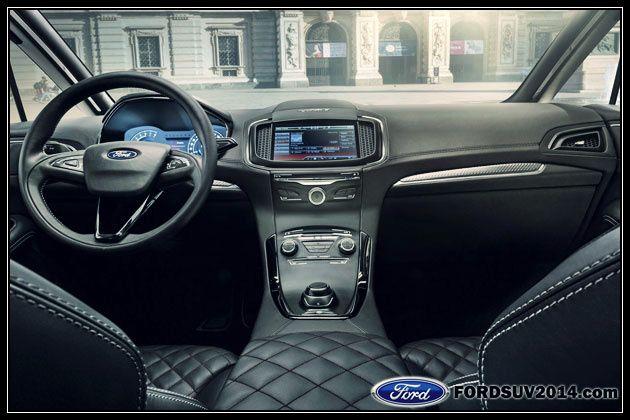 2014 Ford S Max Vignale Concept Interior Ford Vignale Ford