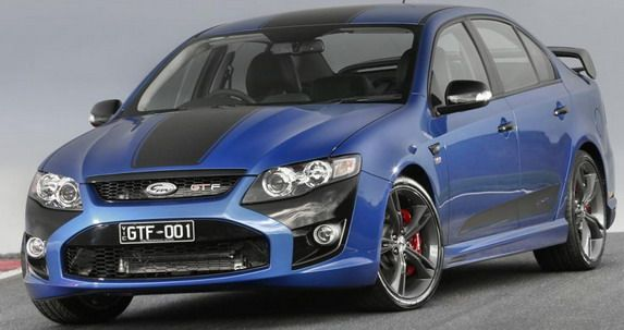 Fpv Gt F Limited Edition Ford Falcon Australian Cars Fpv