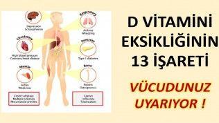 D Vitamini Eksikligi Belirtileri Nelerdir Saglik Saglikli Yasam Tarzi Recete