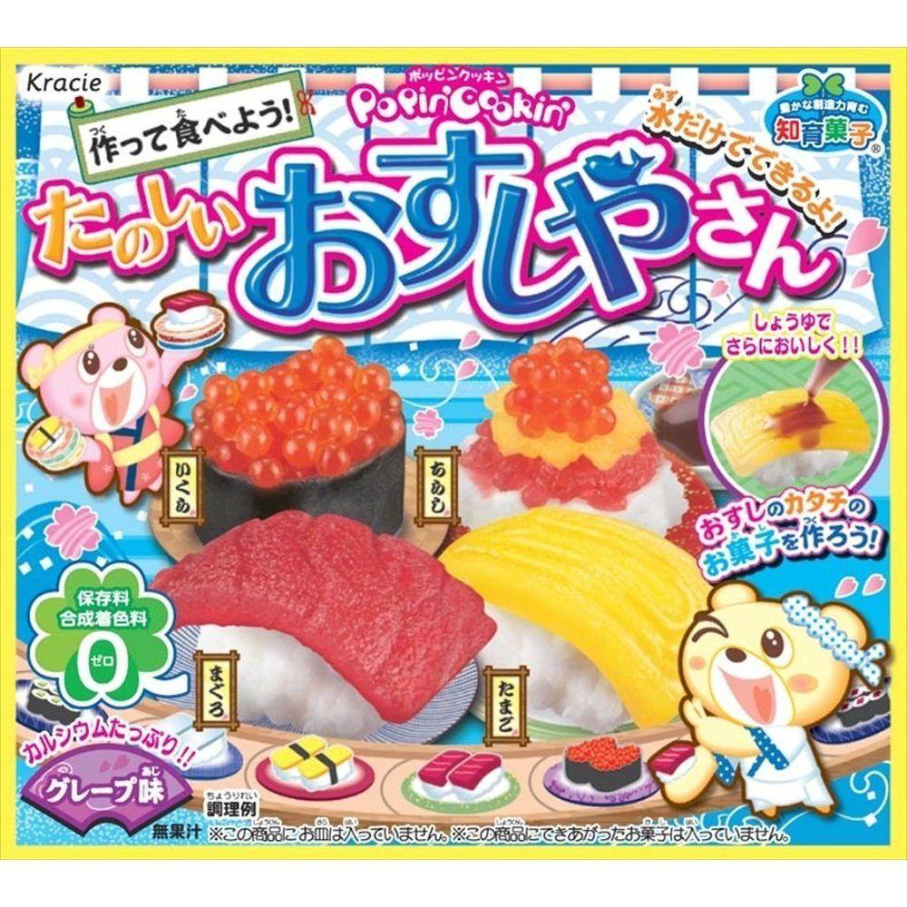 Popin' Cookin' Happy Sushi House Candy sushi, Diy sushi