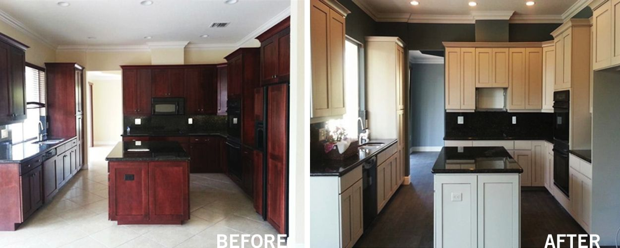 Refinishing Kitchen Cabinets   Kitchen Cabinet Refinishing In West Palm  Beach, Florida