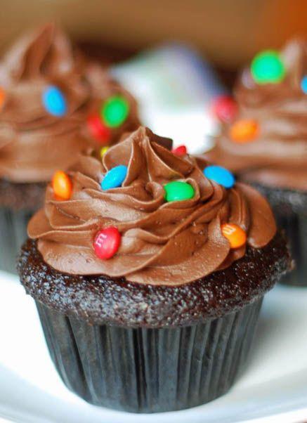 Hersheys Perfectly-Chocolate Cupcakes