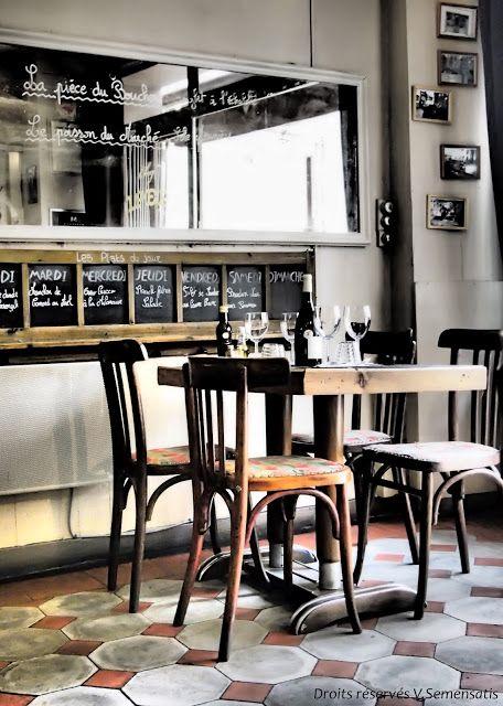 Voyages autour de ma cuisine l 39 esprit bistrot dans les restaurants bistrot paris - Cuisine style retro ...