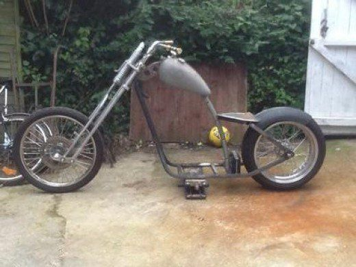 custom softail motorcycle frames. First Day Of Mockup: It\u0027s A Cheap Hardtail Frame I Purchased, And I\u0027m Modifying It To Make More Comfortable For Us. Managed Buy Set Custom Softail Motorcycle Frames