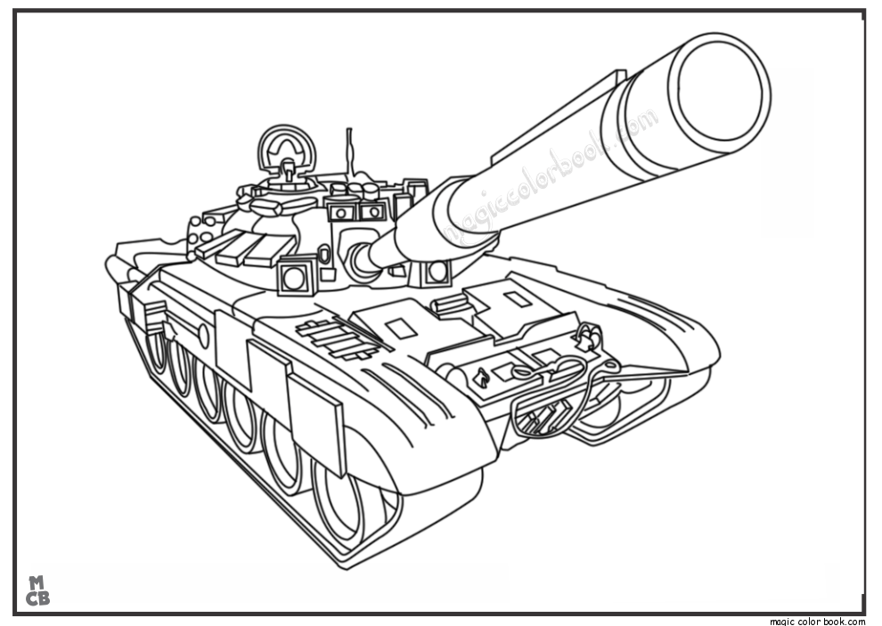 tank free printable coloring pages truck coloring pages