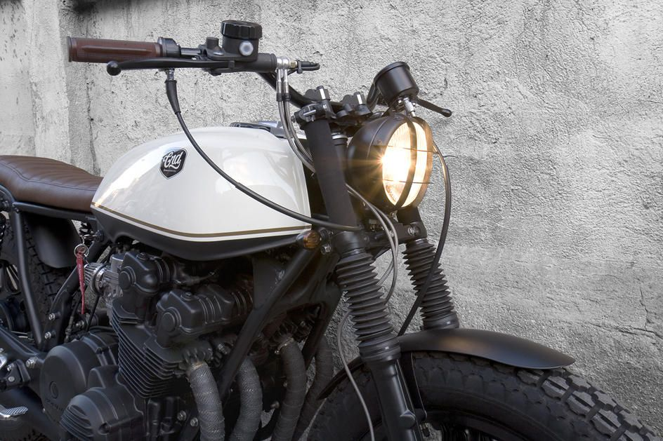"crd #11 honda cb 750 kz ""black cream"""