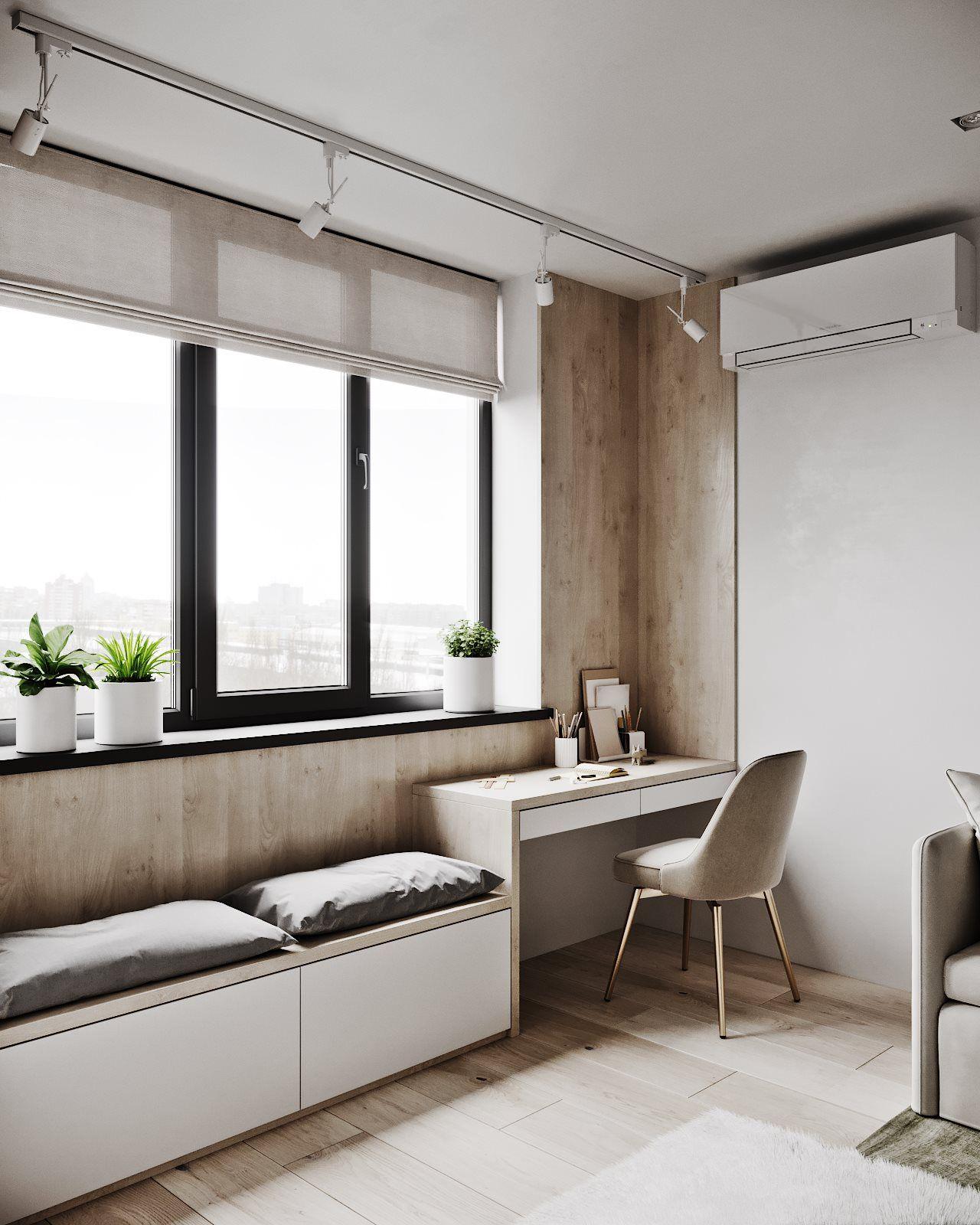 3d Room Interior Design: Apartment Interior Design Image By Maugo On Workplace