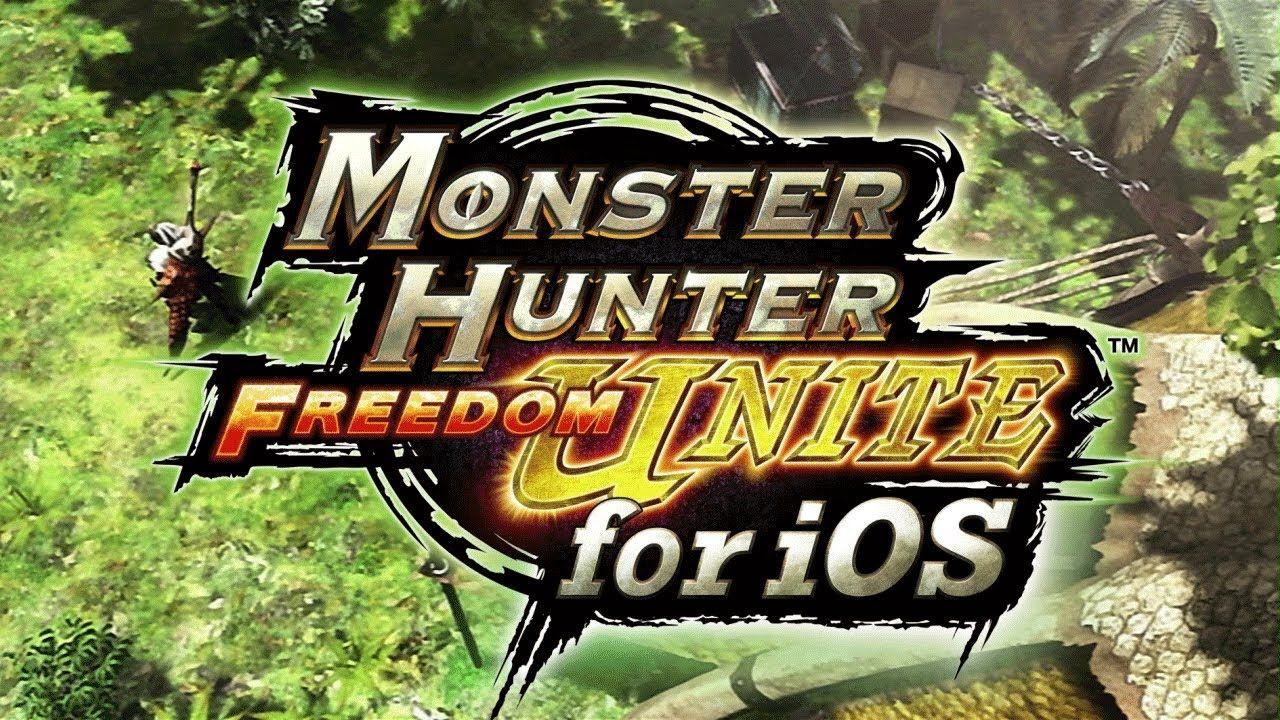 Monster Hunter Freedom Unite for iOS Trailer YouTube