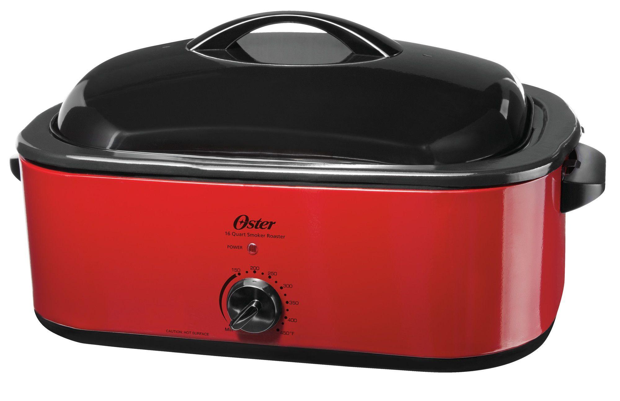 16 Quart Smoker Roaster Oven Roaster Ovens Roaster Oven Reviews