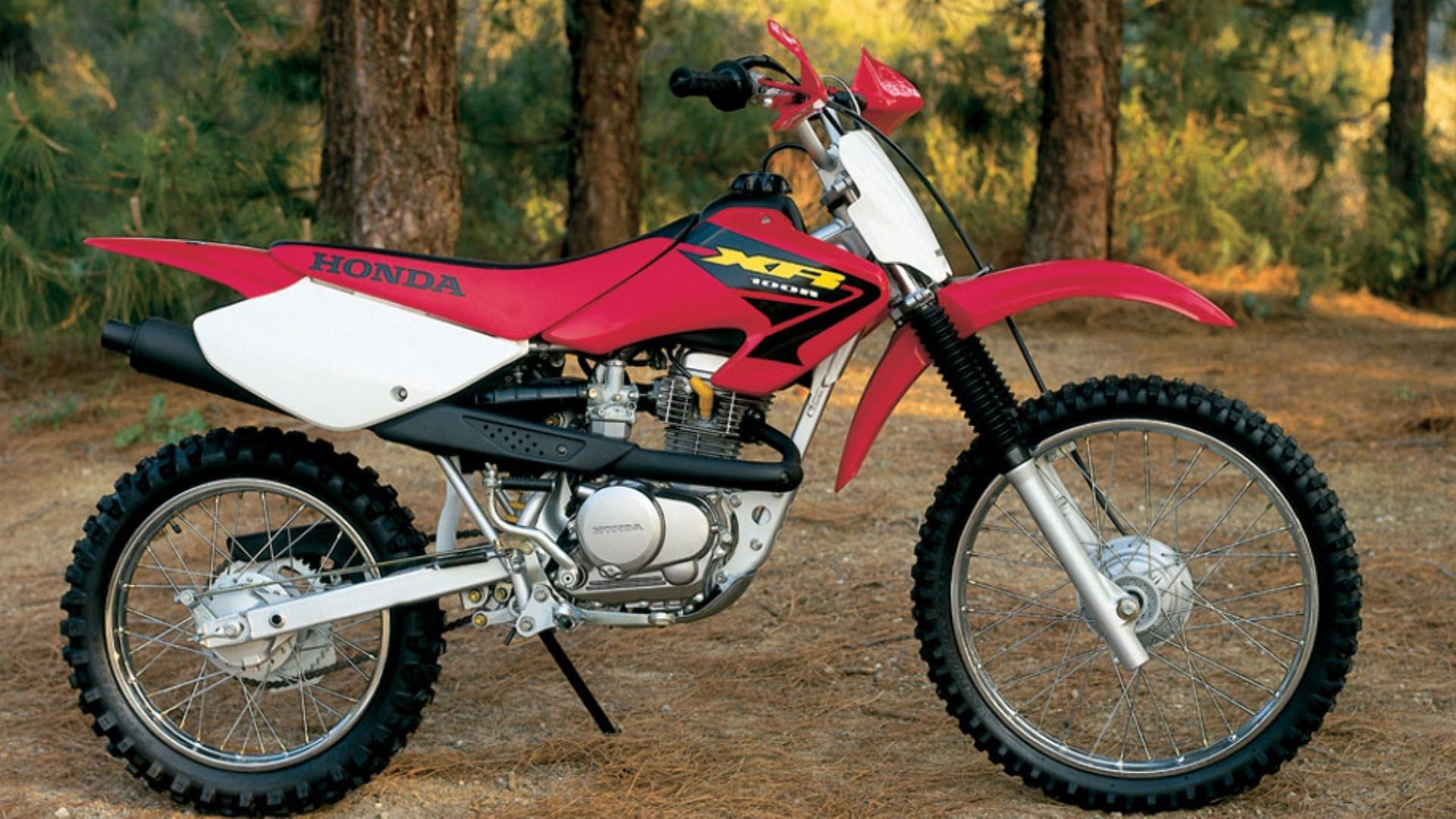 Click on image to download Honda XR80R XR100R Service & Repair Manual 1998 -2003