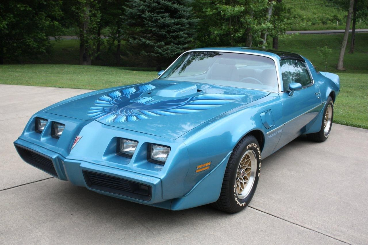 The car my husband was driving the night we met 1979 trans am atlantis blue