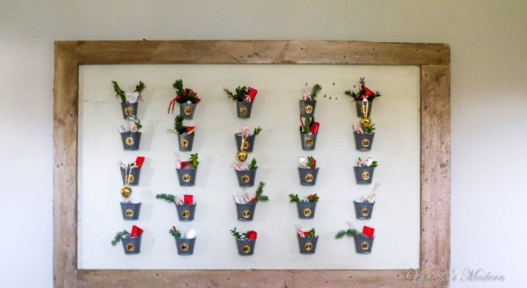 Pottery barn inspired advent calendar #wineadventcalendardiy pottery barn inspired advent calendar, christmas advent calendar, Christmas decoration #wineadventcalendardiy