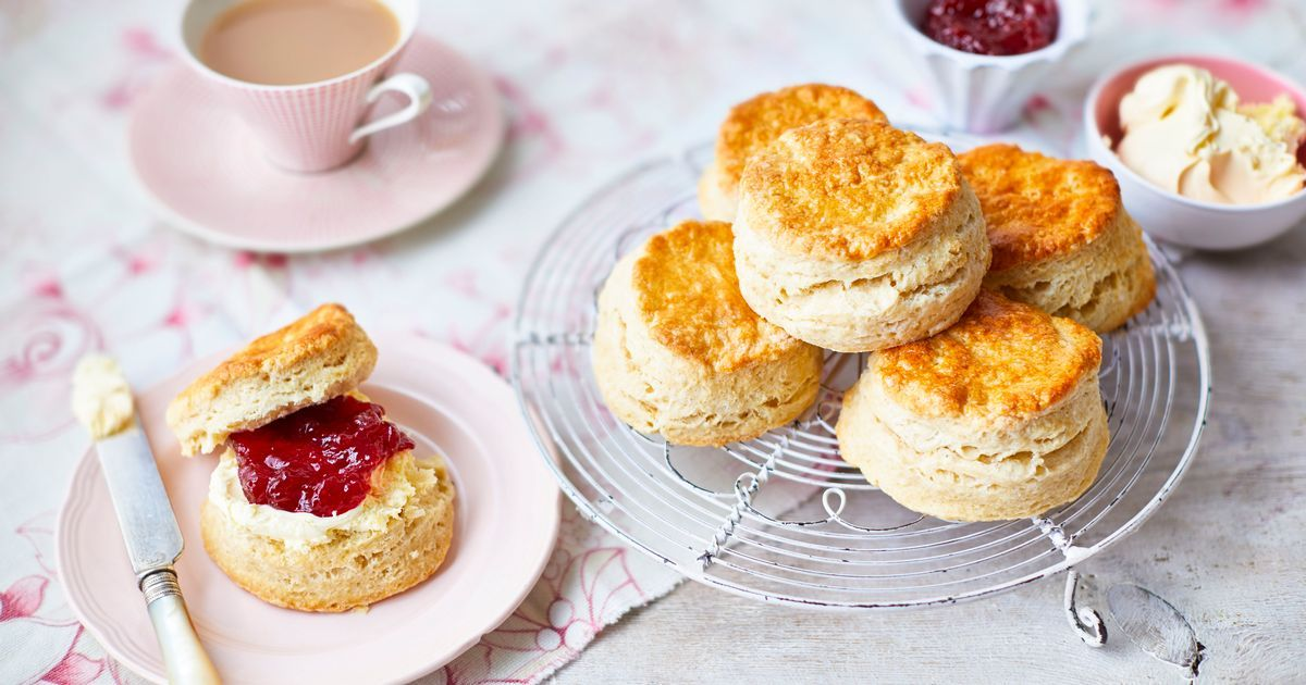 Quick Healthy Scone Recipe Made With Unexpected Ingredients In 2020 Perfect Scones Recipe Food Tesco Real Food