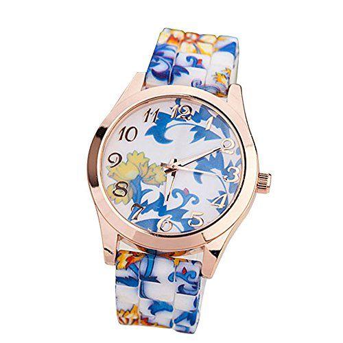 Suppion Women Silicone Printed Flower Causal Quartz Wrist Watches Blue Suppion http://smile.amazon.com/dp/B00LMPD4AU/ref=cm_sw_r_pi_dp_I7XFub10SB8ZT