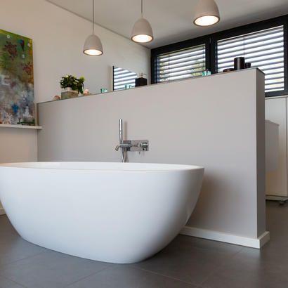 Ausgefallener Badspiegel mit indirekter Beleuchtung Architecture - badezimmerspiegel mit led