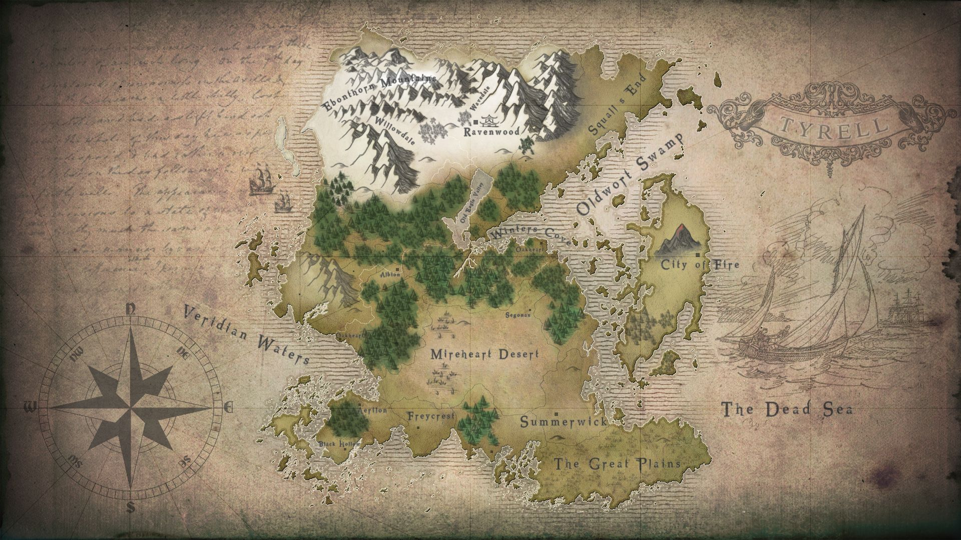 World painter map turned into fantasy minecraft map visual stuff minecraft map created in world painter and then turned into a rpg style colored map minecraft rpg world map gumiabroncs Gallery