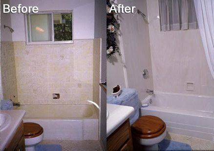Before and after Wichita remodeling Bathroom Remodeling ...