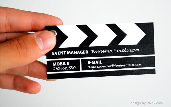 Diseño de tarjeta de presentación muy creativa Tarjetas de - tarjetas creativas