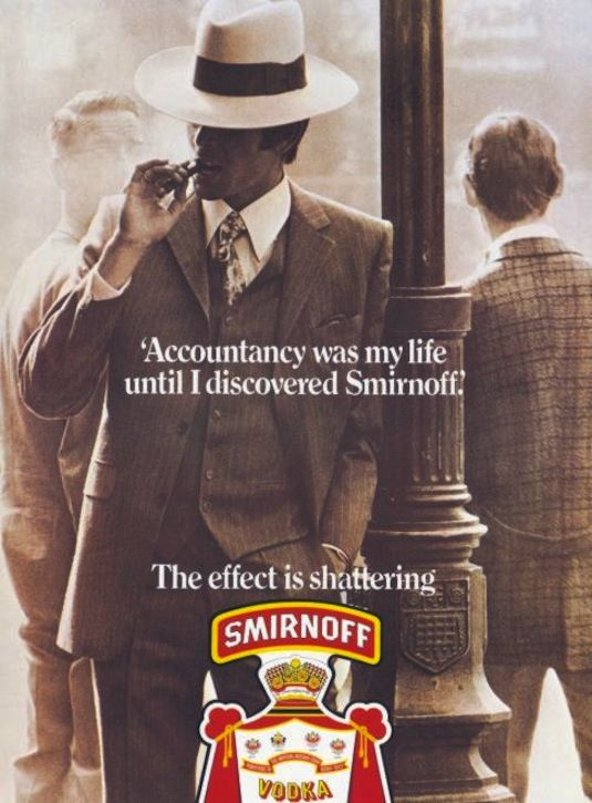 Smirnoff: the effect was shattering