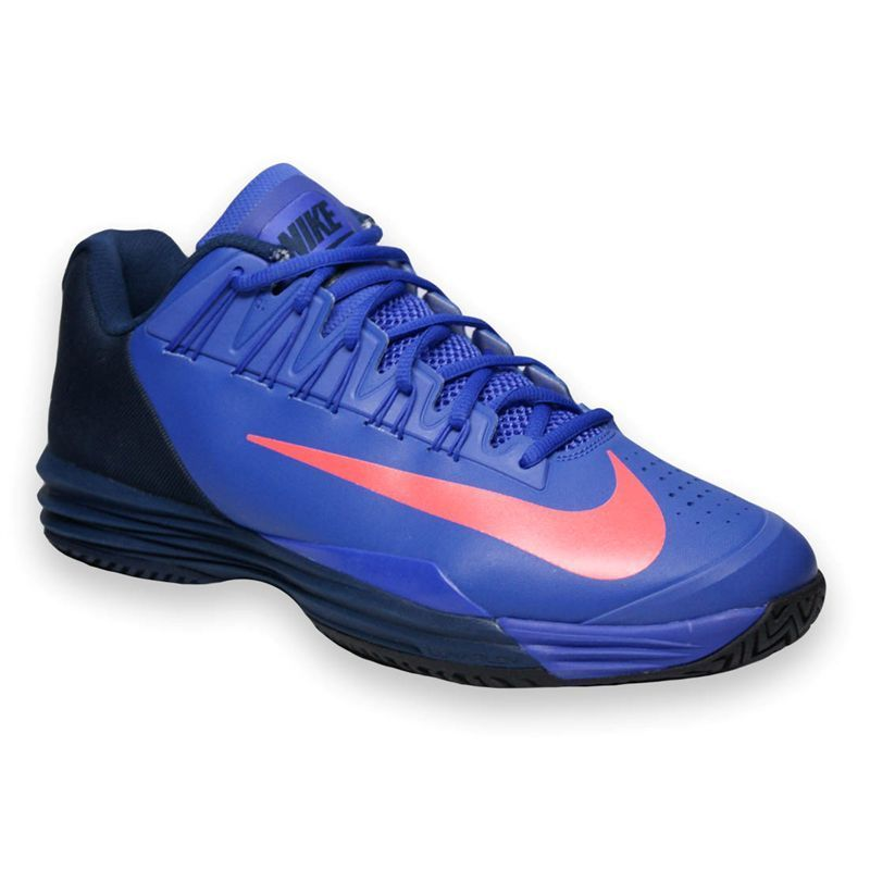 sports shoes ff0fe 0b368 Nike Lunar Ballistec 1.5 Mens Tennis Shoe, Violet, Navy, 705285584