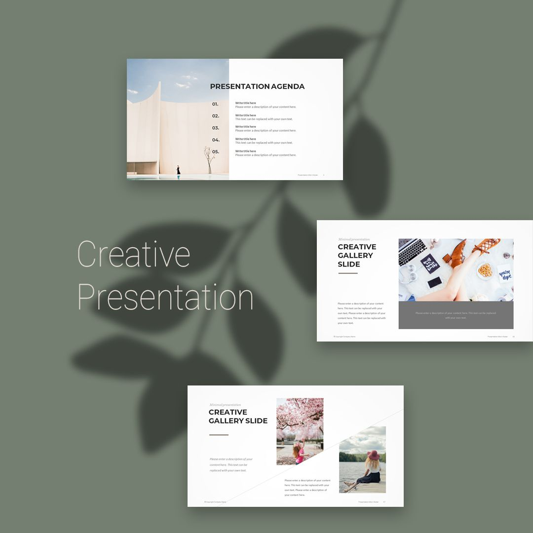 Creative Powerpoint Examples: Creative PowerPoint Template