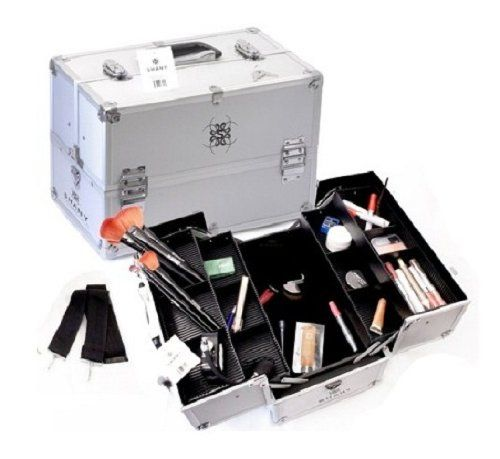 Shany Silver Aluminum Makeup Case, 4 Pounds $39.95