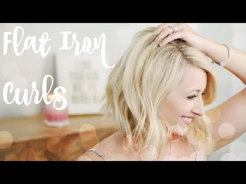 Get Ready For Summer By Learning How To Create Some Easy Beachy Eave For Short Hair Several Tips A Beach Waves For Short Hair Short Hair Waves Flat Iron Curls