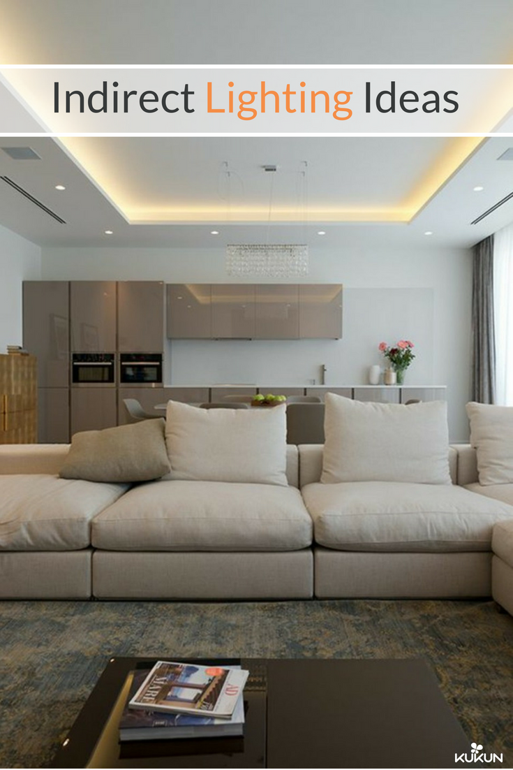 Indirect Lighting Ideas Make Your Home More Stylish Ceiling Lights Living Room Living Room Decor Apartment Living Room Remodel