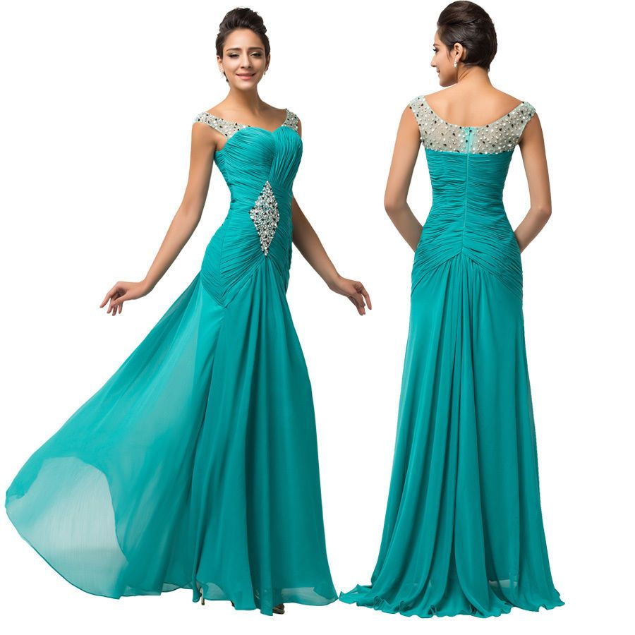 Cool Awesome Long Formal Dresses Wedding Guest Women Bridesmaid ...