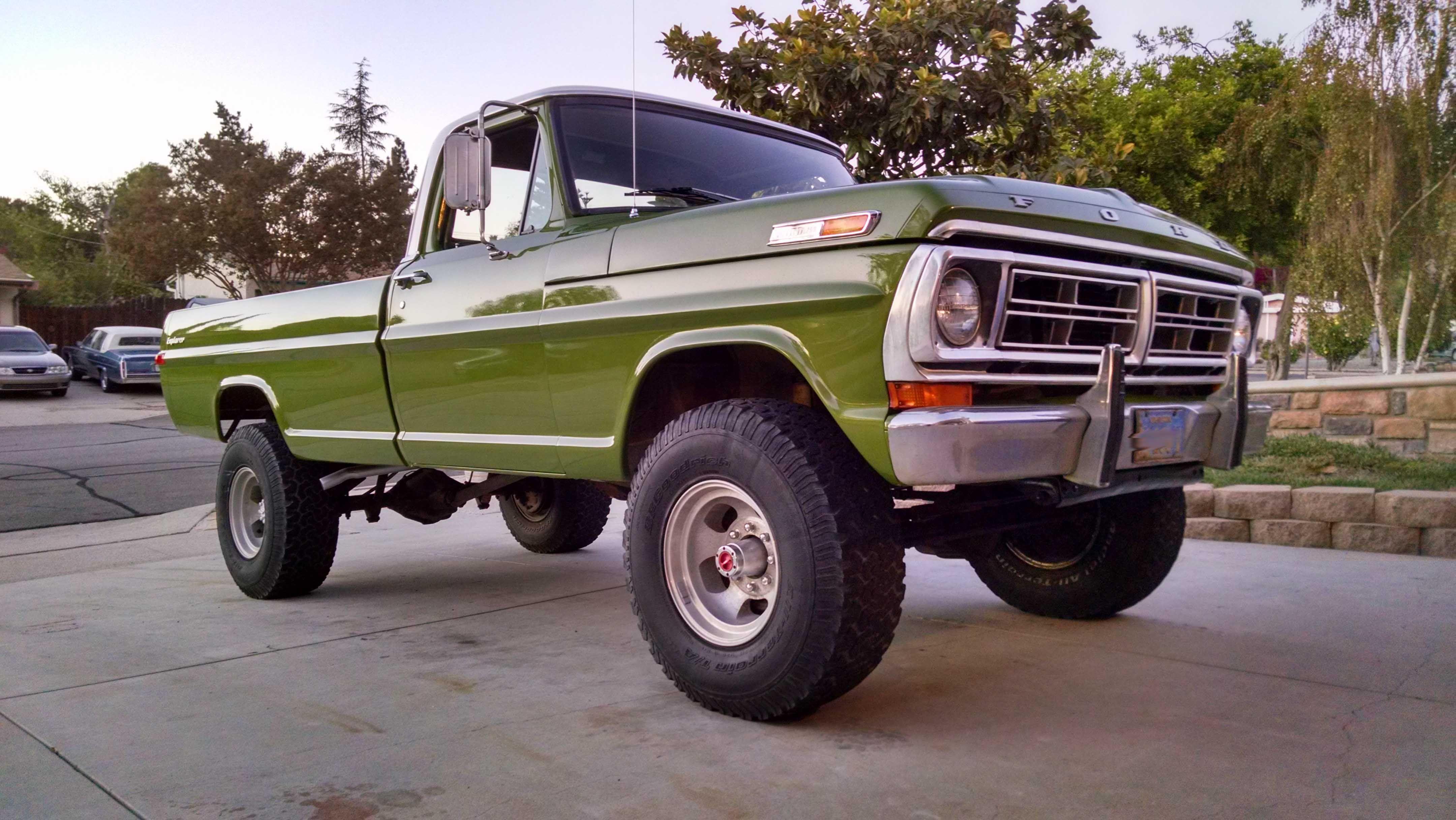 1972 Ford F250 Trucks Pinterest