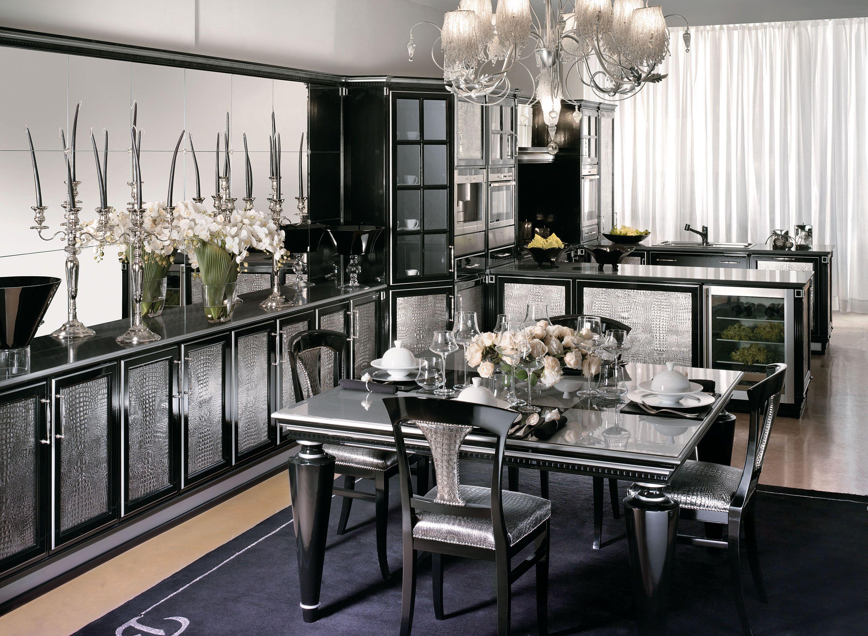 Ultima Modern Art Deco Kitchen By Longhi Fratelli Art Deco Kitchen Design Art Deco Interior Design Living Room Art Deco Kitchen