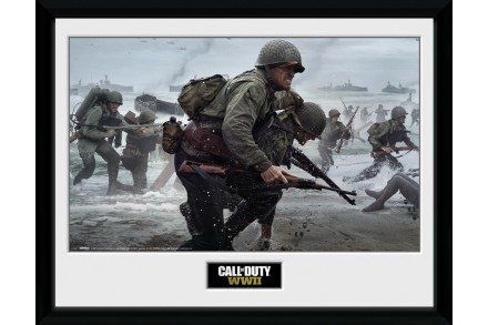 Call Of Duty Stronghold WWII Comraderie Framed Collector Print
