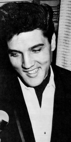 Elvis in Ascot Tie