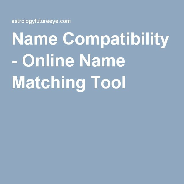 match compatibility by name