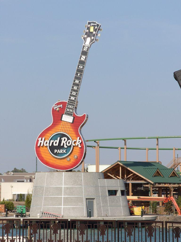 Hard Rock Amusement Park Freestyle Music Park Myrtle Beach Sc