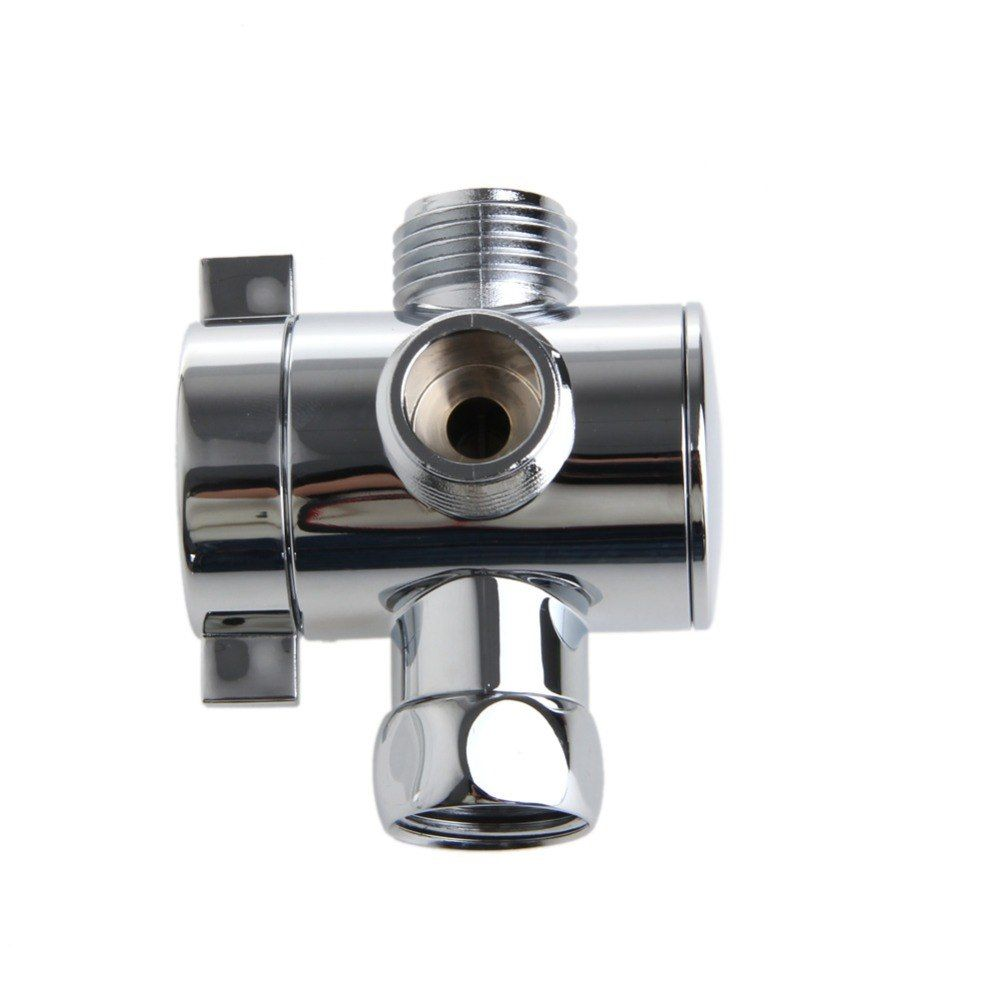 3 Way T Adapter Valve For Toilet Bidet Shower Head Diverter Valve
