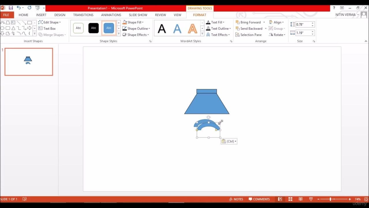 Designing Flat Icons How To Speaker Icon In Powerpoint And