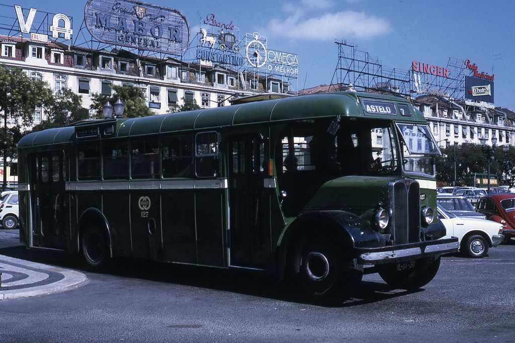 Lisboa 1972 - Companhia Carris de Ferro de Lisboa