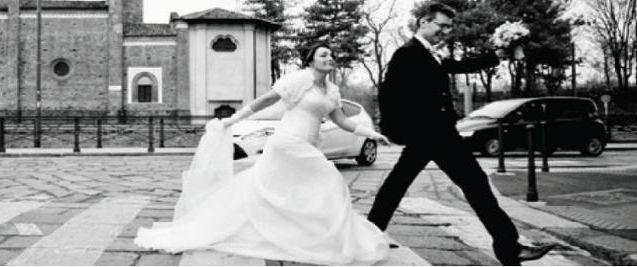 Io e mia moglie Cristina in cammino ... che lo Spirito Santo ricevuto nel Sacramento del matrimonio ci dia la grazia quando non ci saranno strisce pedonali ed il percorso sarà più impervio