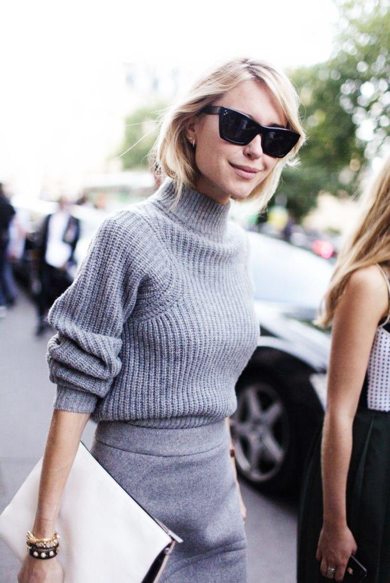 91fd1fde3e4bb5 Style Inspiration: Chunky Winter Knits | The Style | Pinterest ...