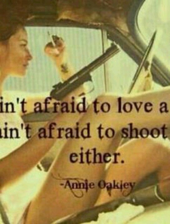 Right on Annie!